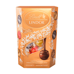 Lindt Boules LINDOR Assorties 200g