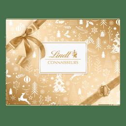 Lindt CONNAISSEURS Pralinés Gold & White Assortiert Weihnachten 230g