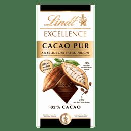 Lindt Tablette EXCELLENCE Noir Cacao Pur 80g