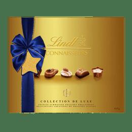 Lindt Pralinés CONNAISSEURS Assortis Prestige Noël 445g