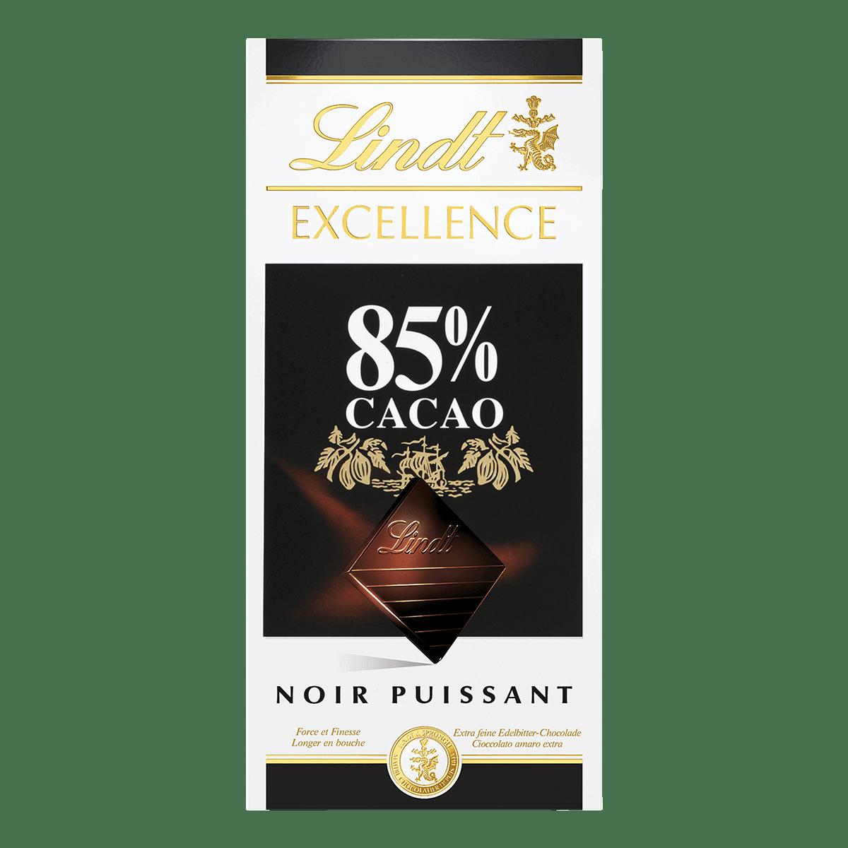Lindt EXCELLENCE Tafelschokolade Dunkel 85% Kakao 100g