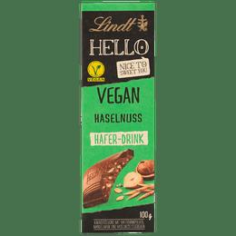 Lindt HELLO Tafelschokolade Milch Vegan Haselnuss 100g