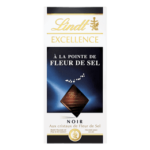 Lindt EXCELLENCE Tafelschokolade Dunkel Fleur de Sel 100g