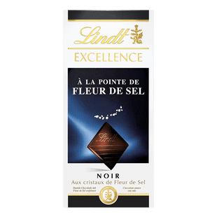 Lindt Tablette EXCELLENCE Noir Fleur de Sel 100g