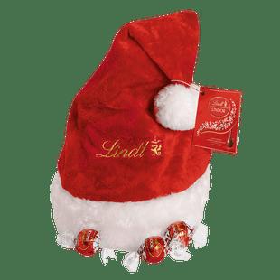 Lindt Boules LINDOR Lait Bonnet du Père Noël 325g