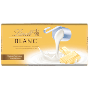 Lindt Tablette Blanc 100g