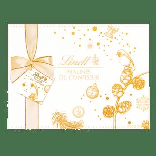 Lindt PRALINÉS DU CONFISEUR Winter Edition Assortiert Weihnachten 250g