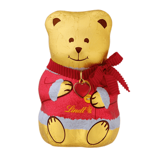 Lindt TEDDY Lait Manteau de Noël 100g