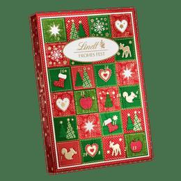 Lindt Calendrier de l'Avent Joyeux Noël 115g