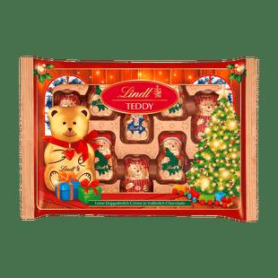 Lindt TEDDY Freunde Lait Noël 96g