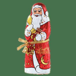Lindt Père Noël Lait Noël avec clochette 125g