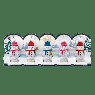 Lindt Mini Bonhommes de Neige Lait Noël 5x 10g