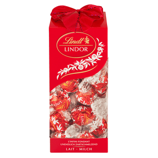 Lindt Boules LINDOR Lait Cadeau 350g