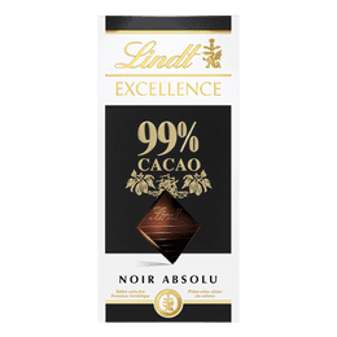 Lindt Tablette EXCELLENCE Noir 99% Cacao 50g
