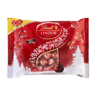 Lindt Mini Boules LINDOR Lait Noël 300g