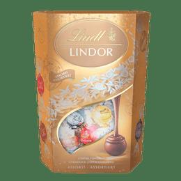 Lindt Boules LINDOR Assorties Noël 500g
