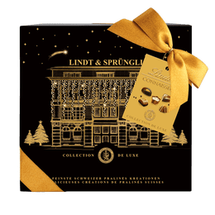 Lindt Pralinés CONNAISSEURS Assortis Joyeux Noël 250g
