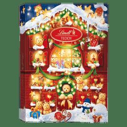 Lindt TEDDY Adventskalender Milch Weihnachten 172g