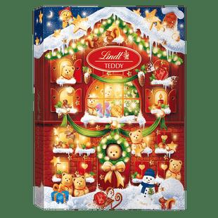 Lindt Calendrier de l'Avent TEDDY Lait Noël 172g