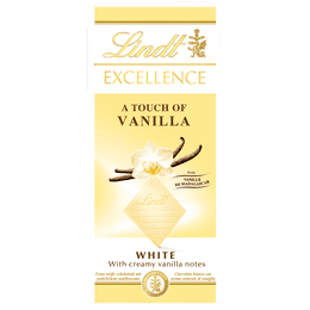 Lindt EXCELLENCE Tafelschokolade Weiss Vanilla 100g