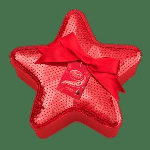 Lindt Boules LINDOR Lait Glamour de Noël Etoile Noël 350g