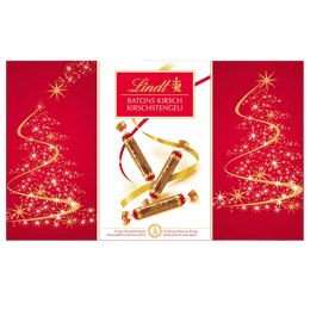 Lindt BÂTONS KIRSCH Fête Noël 500g
