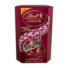 Lindt LINDOR Boules Double Chocolate 200g