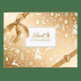 Lindt CONNAISSEURS Pralinés Assortiert Gold & White Weihnachten 445g