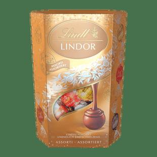 Lindt Boules LINDOR Assorties Noël 200g