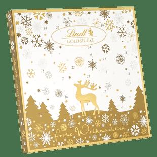 Lindt Goldstücke Adventskalender Weihnachten 156g