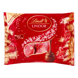 Lindt LINDOR Kugeln Milch Baumschmuck Weihnachten 300g