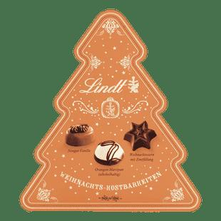 Lindt Kupferrange Weihnachtskostbarkeiten Tanne Weihnachten 100g